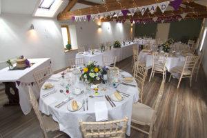 Granary - Fawsley - Wedding Breakfast