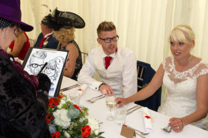 Wicked Caricatures - Top Table