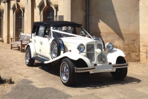Prestige and Classic Wedding Cars - Beauford Tourer