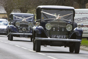 Peter M Starey Wedding Car - Both Cars