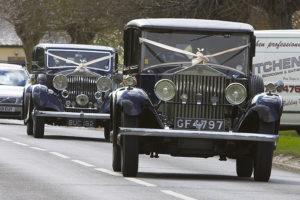 Peter M Starey Wedding Car - Both Cars