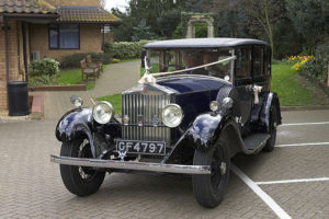 Peter M Starey Wedding Car - Register Office