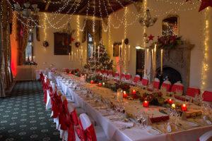 Orton Hall - Christmas